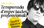Temporada d'espectacles professionals